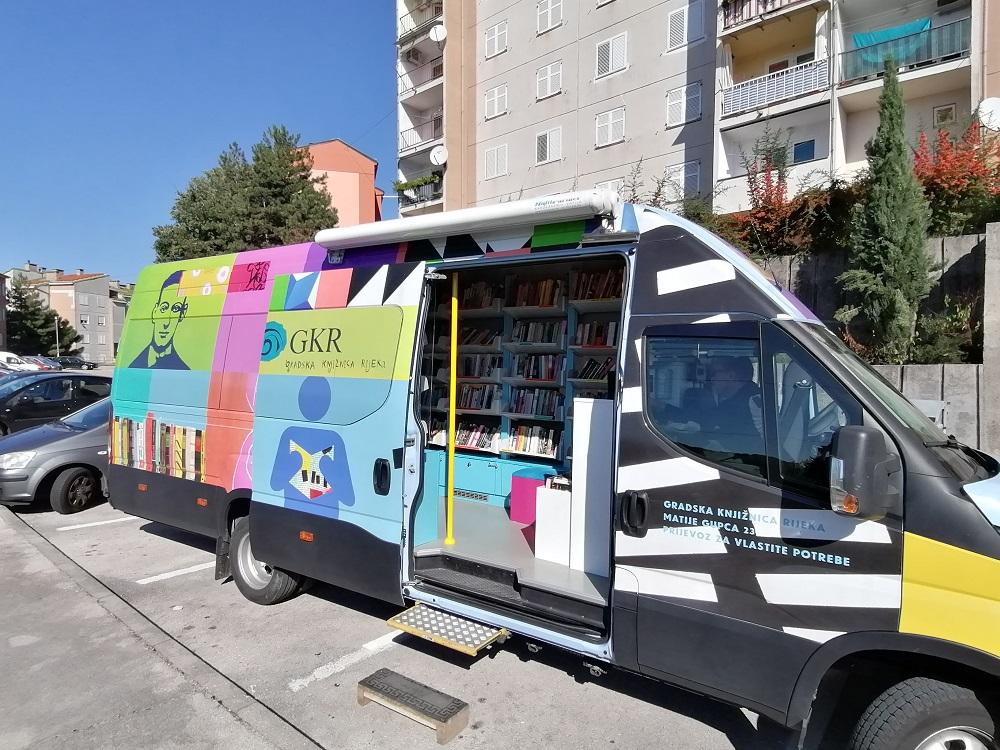 Škurinjski termini Gradskog bibliobusa u listopadu, studenom i prosincu 2020.