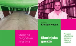Književni susret s hit autorom: Kristian Novak stiže u škurinjsku garažu